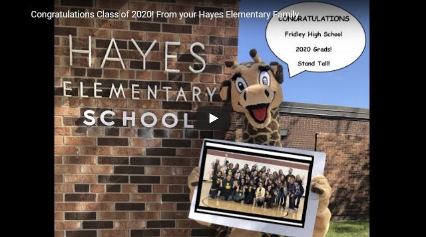Click for Hayes Elementary Shout Out Video!