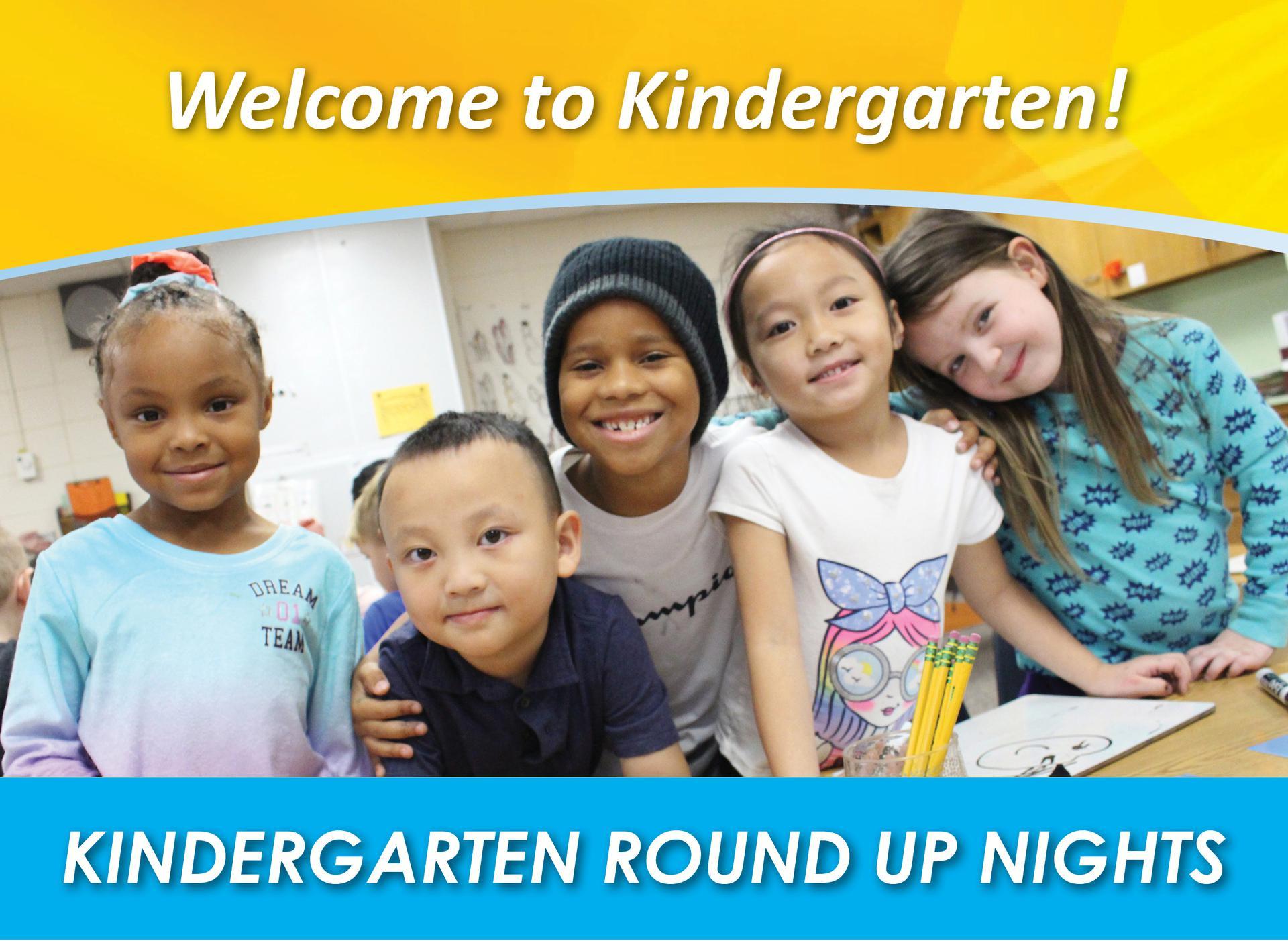 Kindergarten Round Up Nights