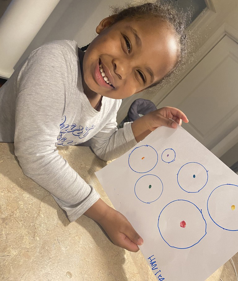 Haniya - picture to ''The Dot'' story
