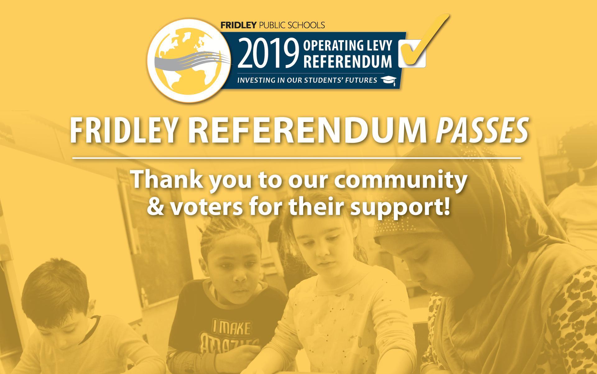 Fridley Referendum Results