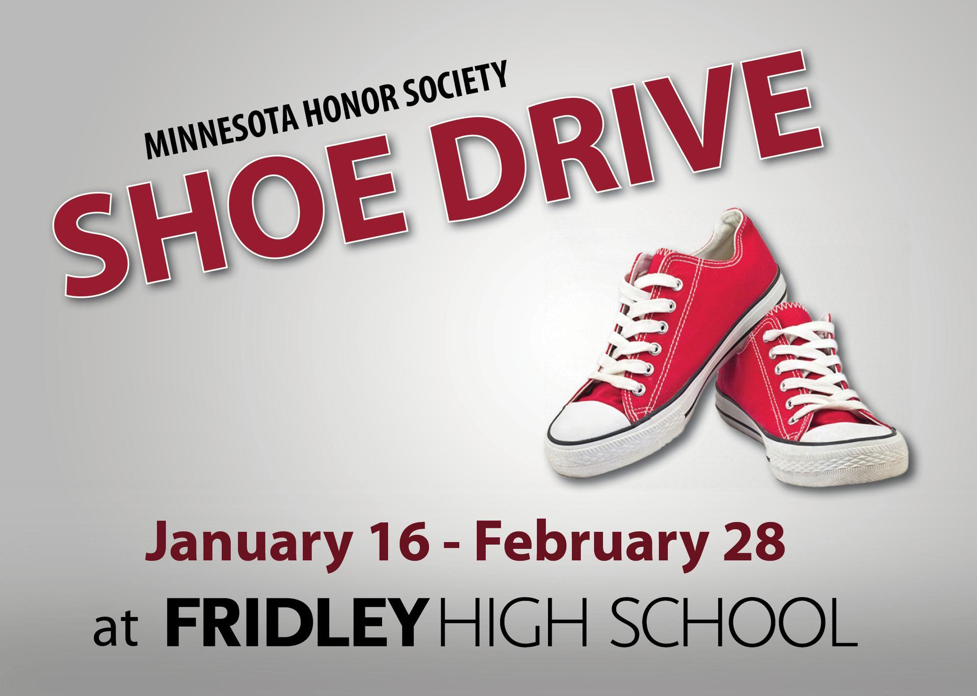 Fridley High School Shoe Drive