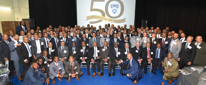 Attendees of 50th Anniversary Recognition Celebration