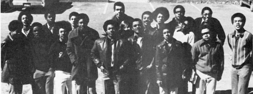 Black Student Organization, early photo