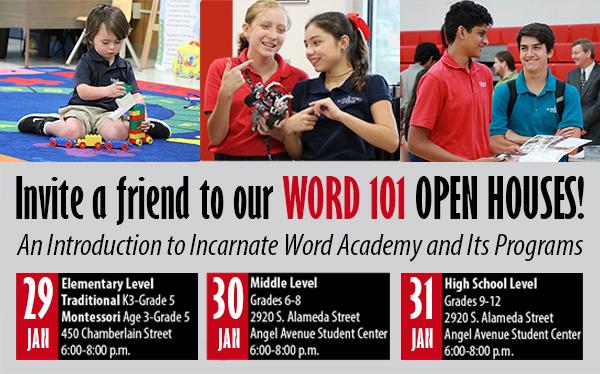 Invite a Friend to WORD 101