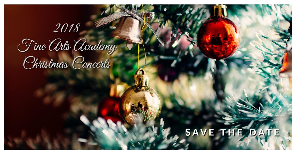 Fine Arts Academy Christmas Concerts