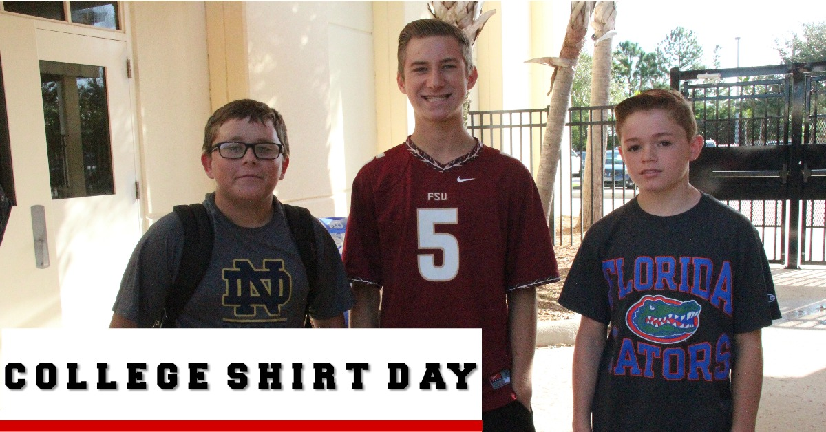 College T Shirt Day