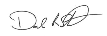 Dan Steinfield, President Signature