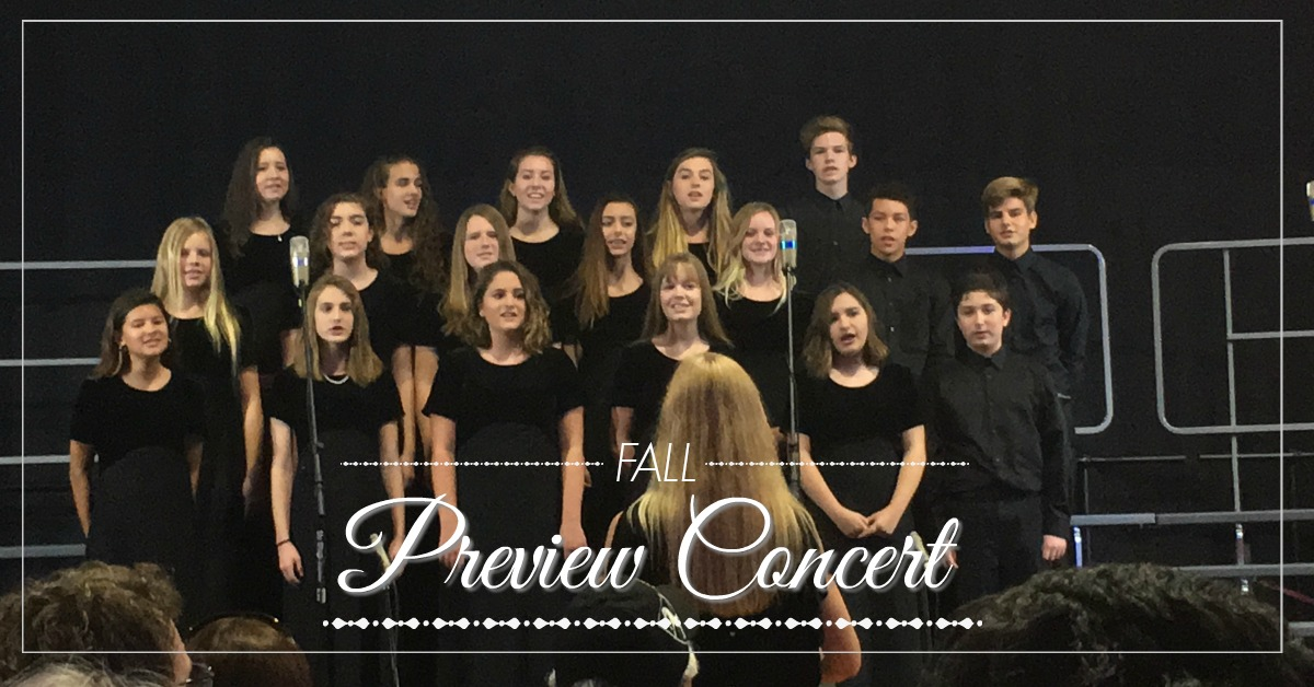Fall Preview Concert