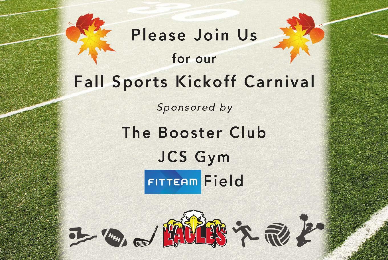 Fall Sports Kickoff Carnival
