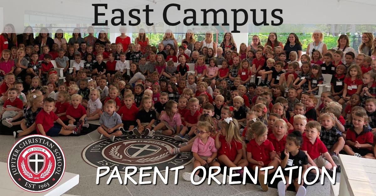 East Campus Parent Orientation