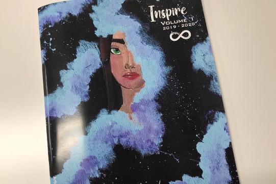 Inspire Magazine Cover