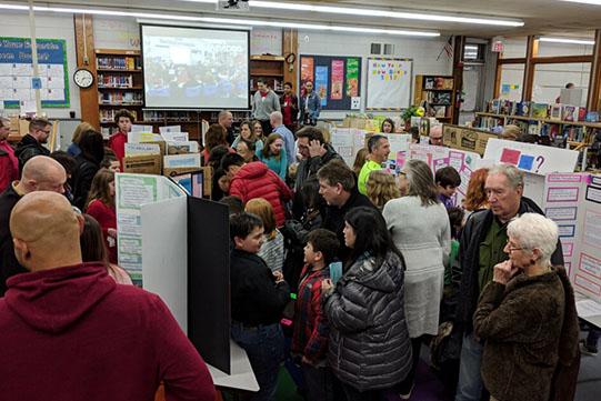 Fifth Grade Advocacy Fair