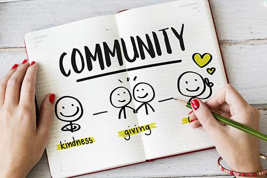 Community graphic