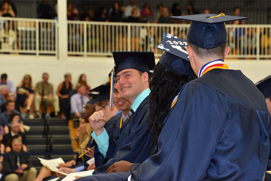 LHS Graduates at Graduation Ceremony