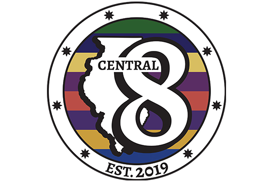 Illinois Central 8 logo