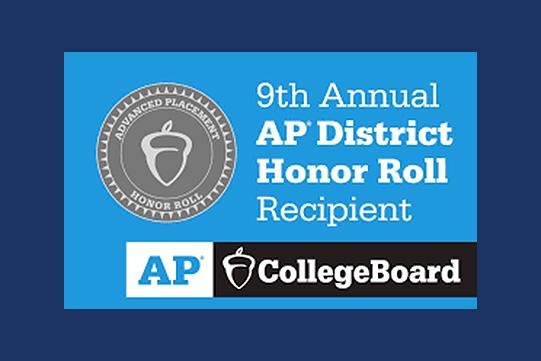 9th Annual AP District Honor Roll logo