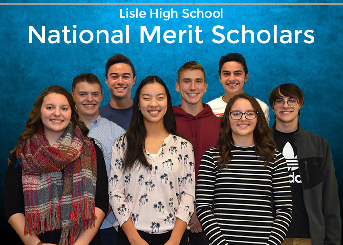 Lisle High School National Merit Honorees
