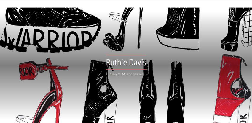 Ruthie Davis '80 Design Warrior