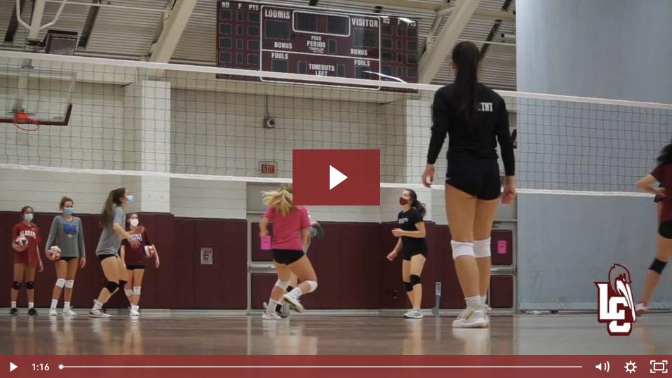 Girls Volleyball Video