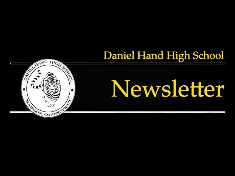Daniel Hand High School Newsletter
