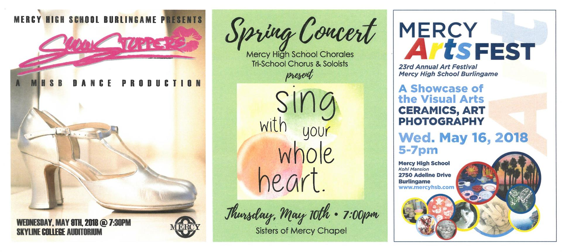 VPA Spring Events