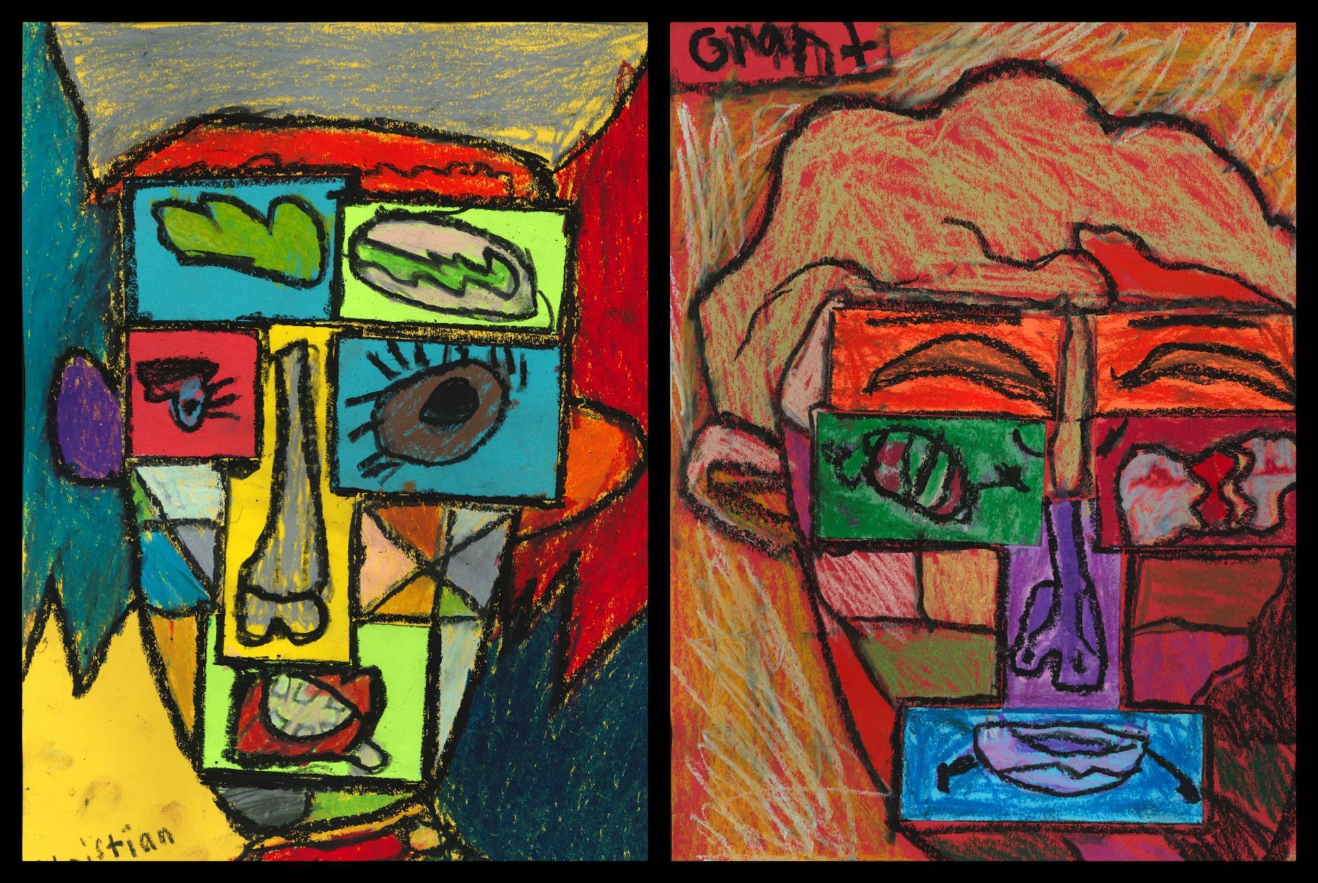 2nd Grade Artwork