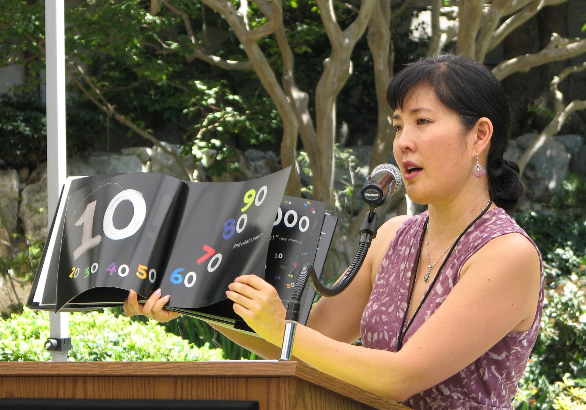 Kathryn Otoshi to visit 10/18