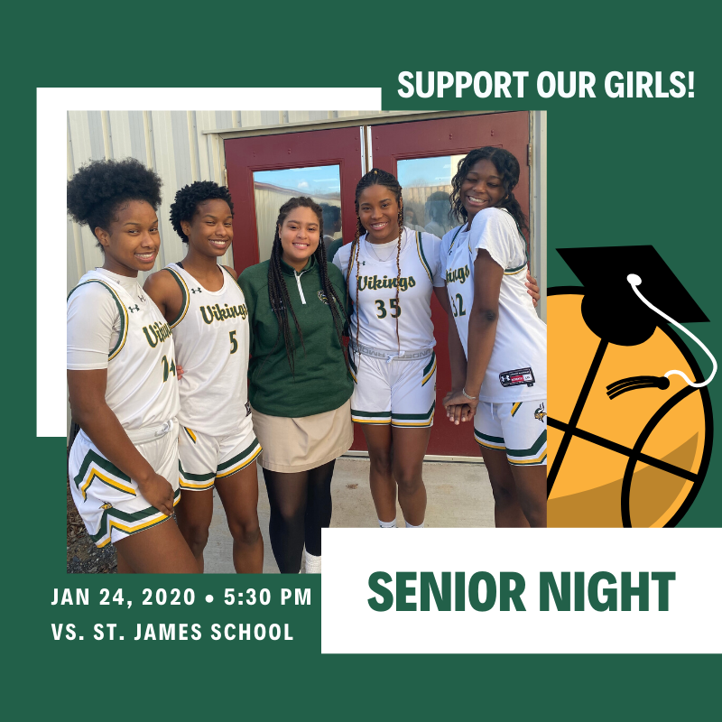Girls' Basketball Senior Night