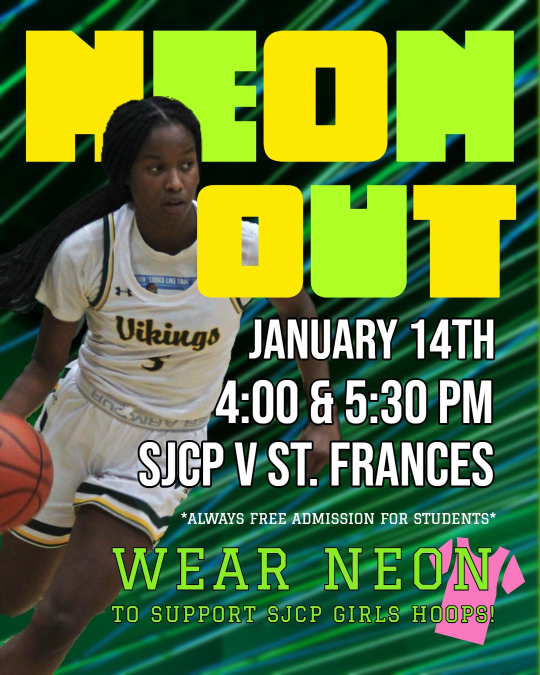 Neon Out at SJCP January 14, 2020