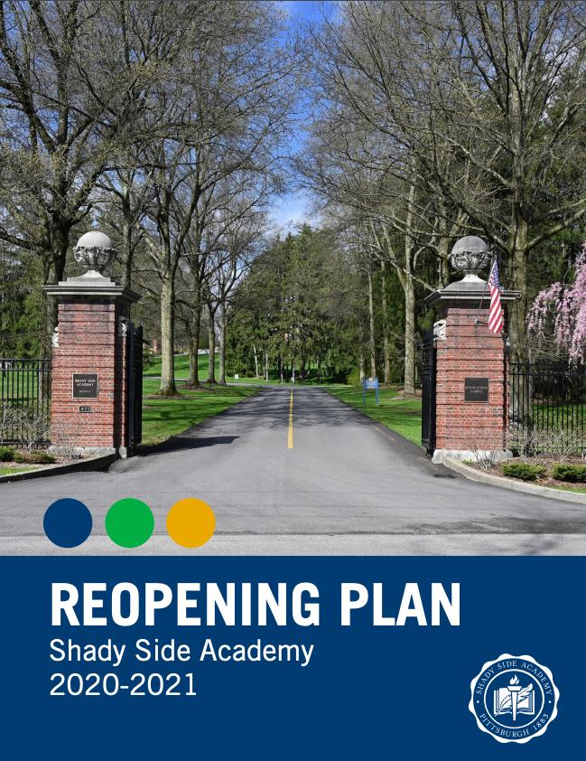 2020-2021 Reopening Plan