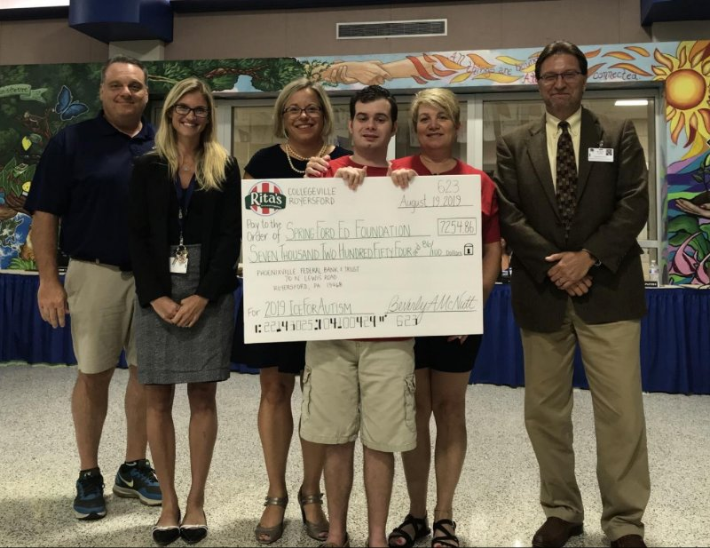 Spring-Ford Donation