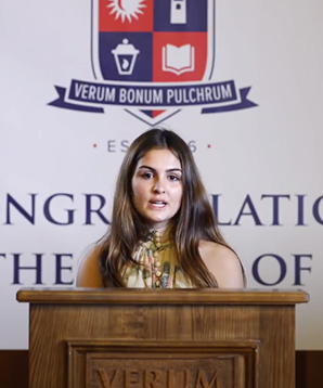 Student Profile: Giulia Meregalli '20