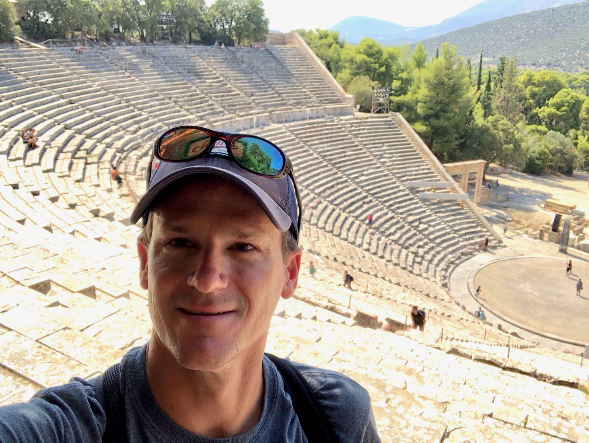 Photo of Webb Thomson in Greece