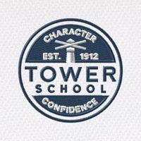 Embroidered Tower logo