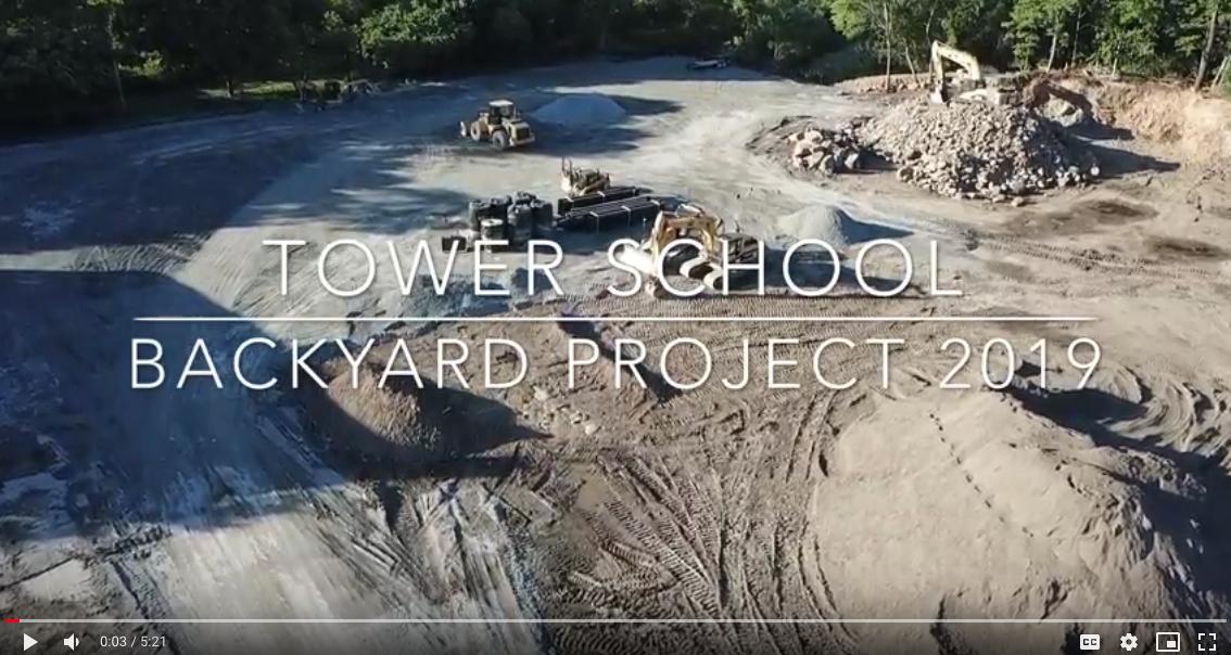 Backyard Project Drone Footage June 2019