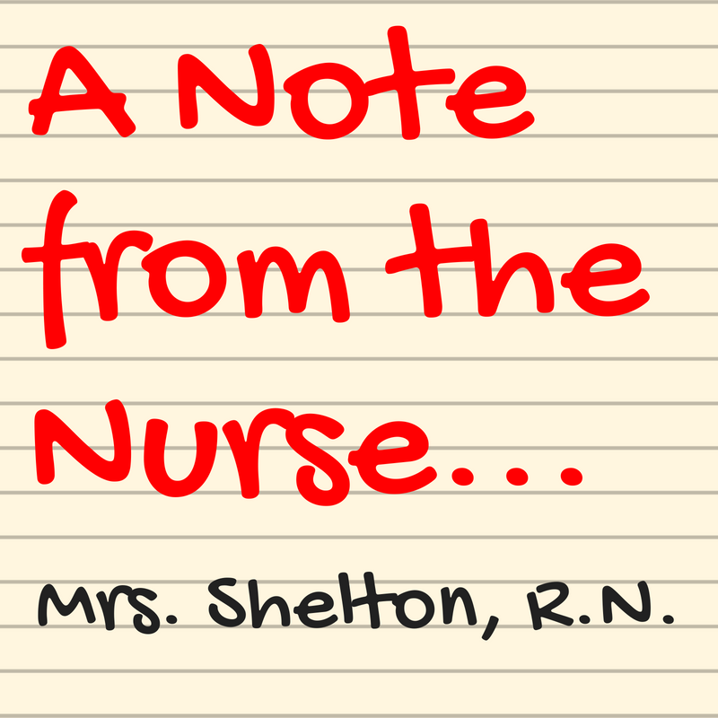 A Note from the Nurse