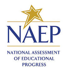 Image of NAEP with Star above and National Assessment of Educational Progress written underneath