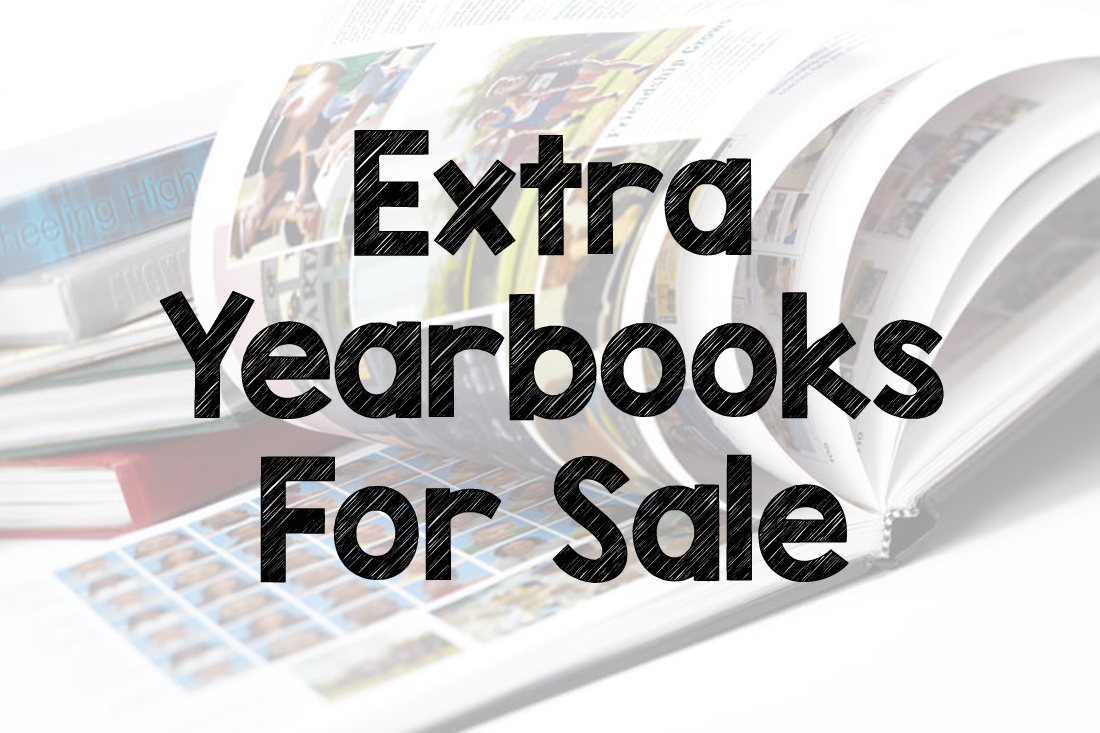 Extra yearbooks for sale.