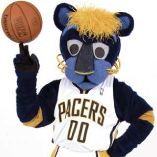 Boomer from the Pacers