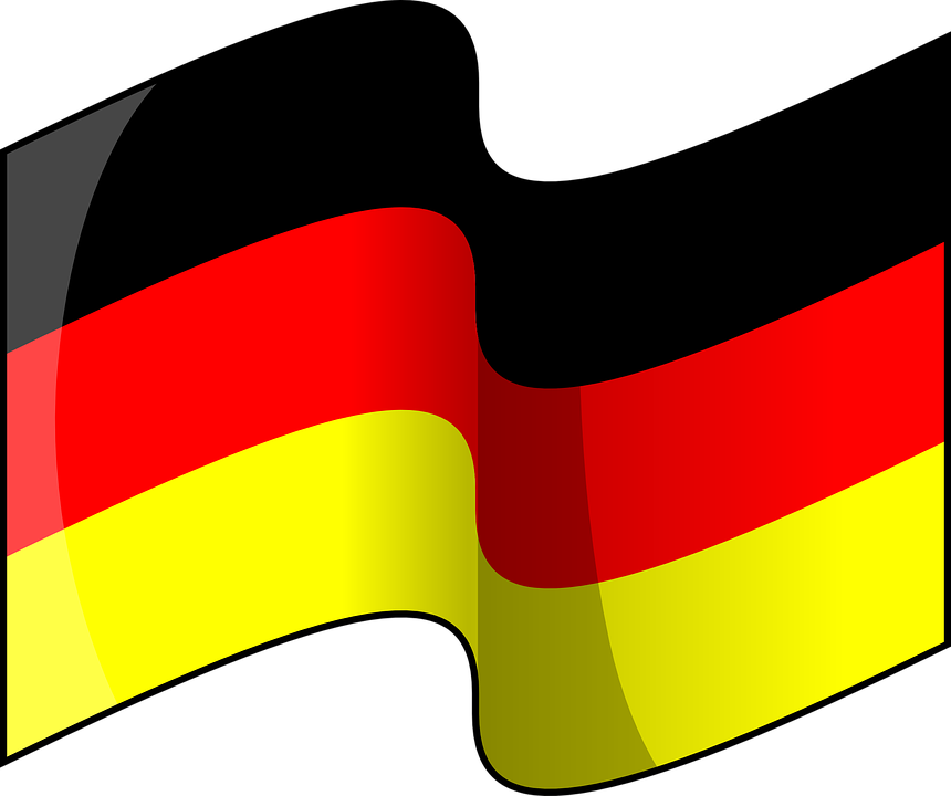 The official flag of Germany
