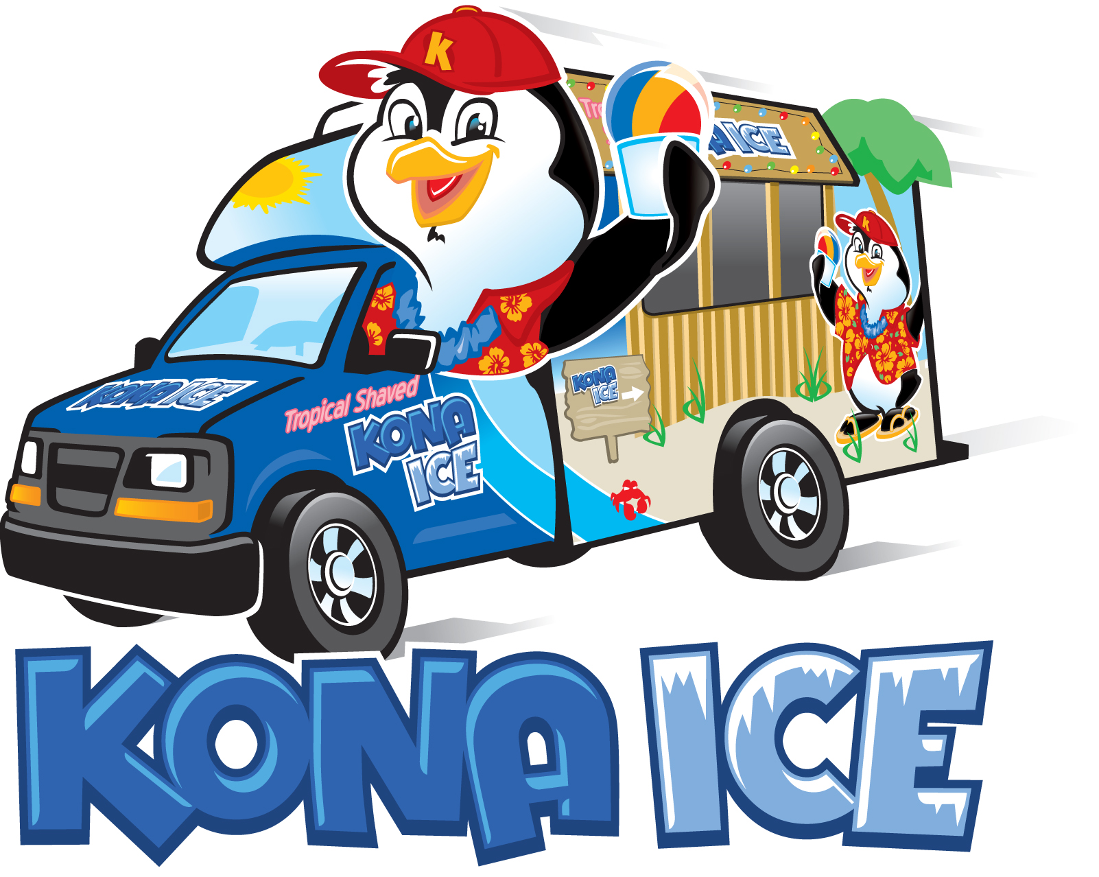 Pizza and Kona Ice for school wide picnic.