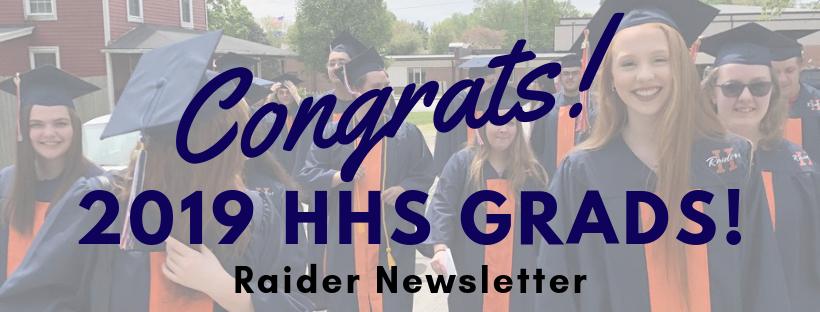 Congratulations Harrison Seniors!