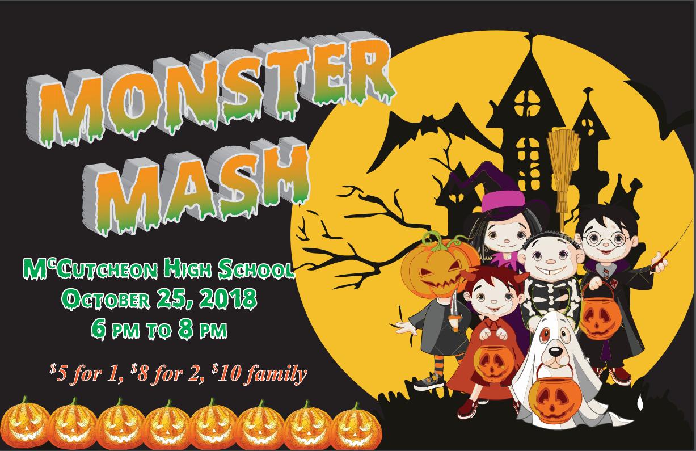 Monster Mash at McCutcheon HS