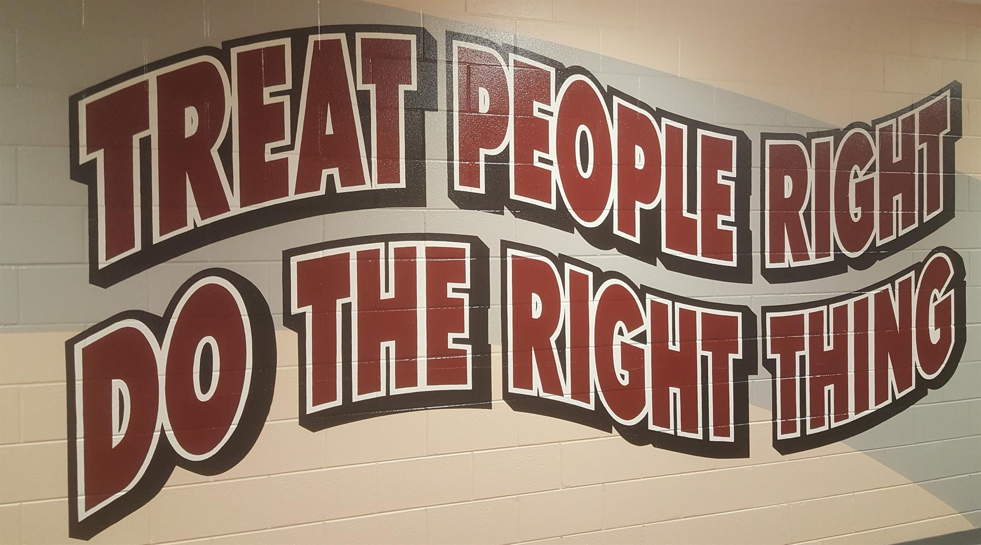 Treat People Right, Do The Right Thing
