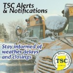 TSC Alerts & Notifications with a School Bus