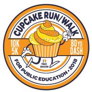 logo for the Public Schools Foundation Cupcake Run/Walk