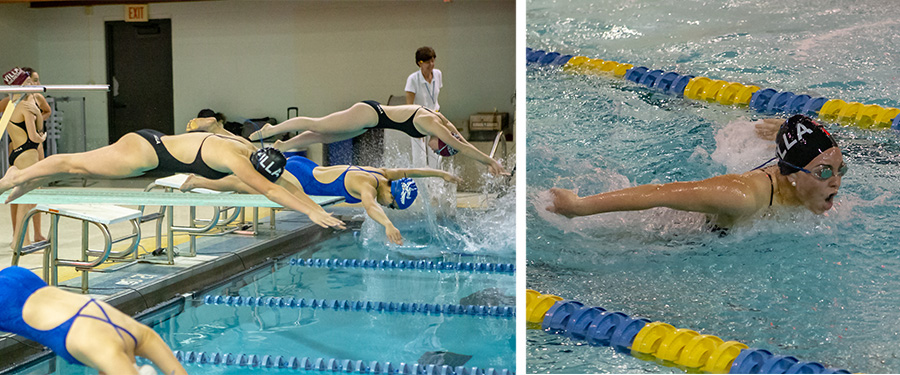 Varsity Swimmers