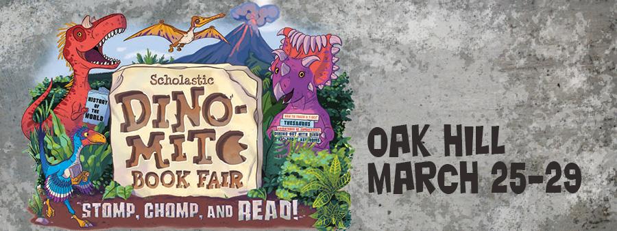 Scholastic Dino-Mite Book Fair