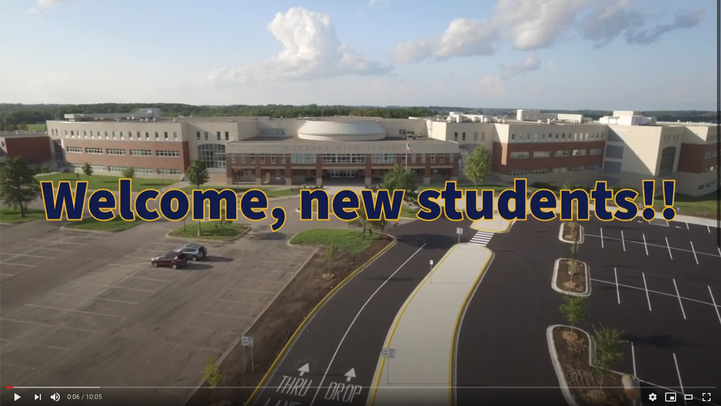 Wayzata High School New Student Virtual Orientation