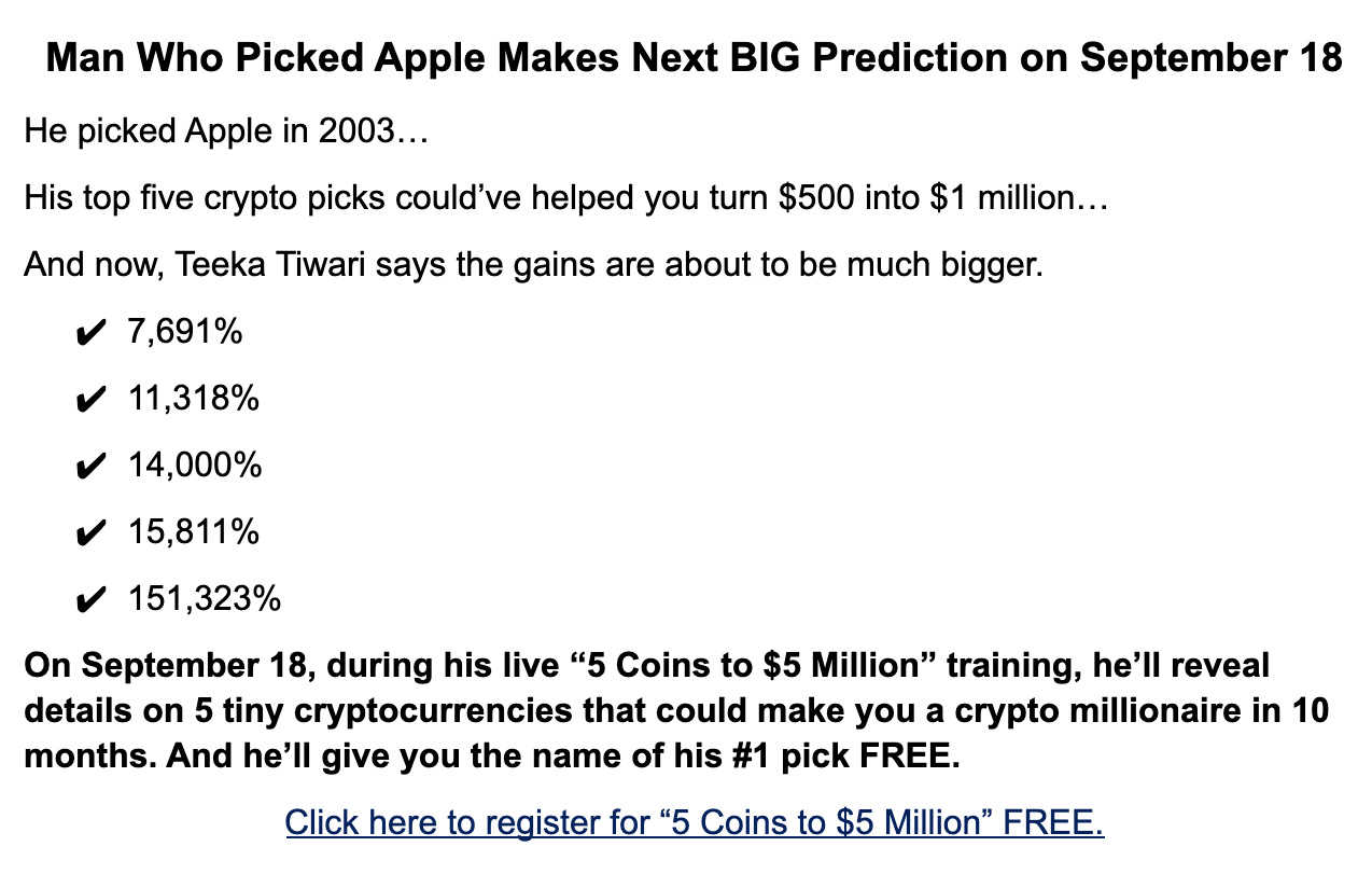 Man Who Picked Apple Makes Next BIG Prediction
